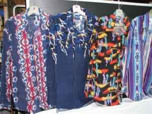 5 Western Cowboy shirts. XL, Long sleeve, Long tails, Snap butttons. - $40 ThurstonSpringfield