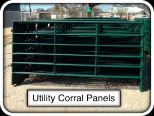 5' x 10' Corral Panels, Roping Arenas, Riding Arenas -
