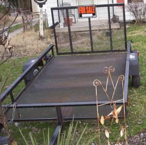 5 X 8 TRAILER WITH GATE - $475 Fairdale