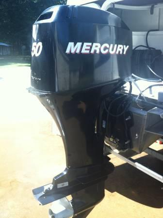 50 HP Mercury 4 Stroke Outboard, 2006, Big Foot - $1500
