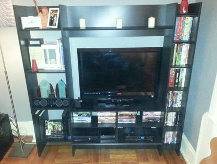 Ikea Entertainment Credenza : Ikea galant desk new and used furniture for sale in york buy