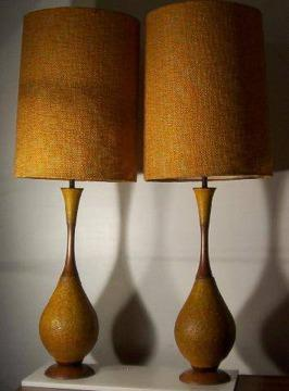 $500 LAMPS You are viewing two beautiful mid century