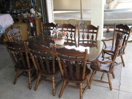 solid wood dining room table chairs 19th ave