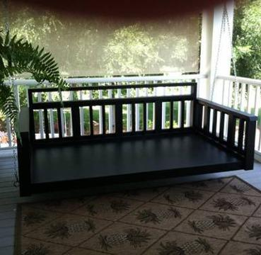 Twin size Porch Swing Bed for Sale in Cordele, Georgia Classified ...