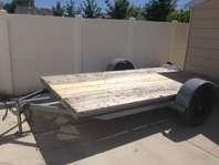 5000 lb car hauler, utility trailer. for Sale in Riverton ...