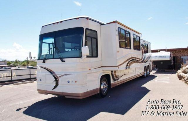 500hp prevost eater 45 39 tag axle newell diesel rv wow for Used diesel motor homes