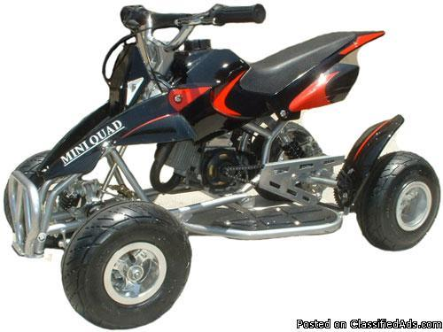 50cc 2 stroke pocket atv quad for sale in joliet illinois classified. Black Bedroom Furniture Sets. Home Design Ideas