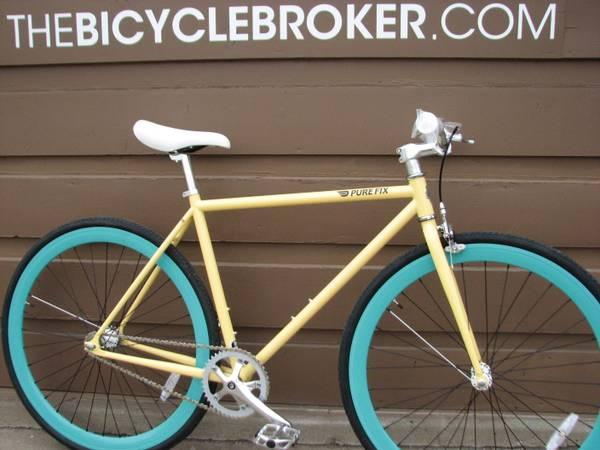 50cm Pure Fix Quot X Ray Quot Fixed Gear Fixie Single Speed Road