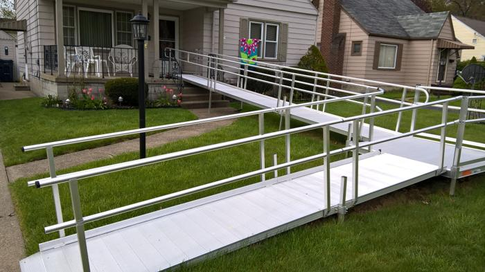 52 foot aluminum ramp