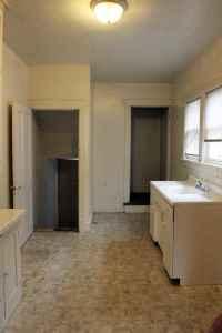 Washer dryer hookups in basement