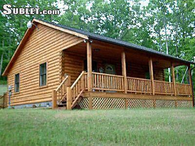 5260 2 apartment in page county shenandoah valley luray for Log cabins in shenandoah valley