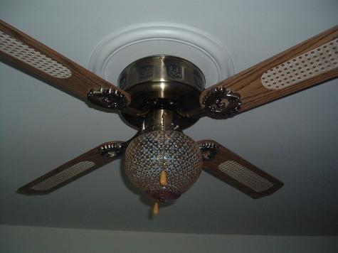52in empire style antique brass flush mount ceiling fan for sale in empire style antique brass flush mount ceiling aloadofball Image collections