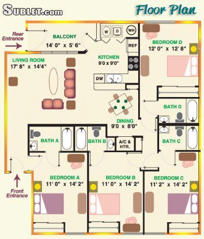 $540 room for rent in Oviedo