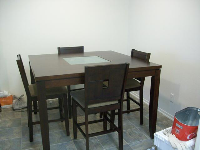 54x54 Dining Table Set 4 Chairs And 36 In Round