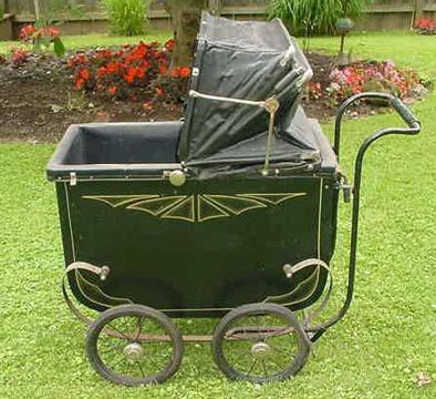 Think, Vintage decorative metal carriage