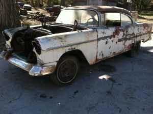 Chevys Lincoln Ne >> 55 Chevy Hardtop Project Near Central City Ne For Sale