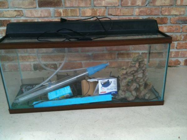 55 gallon fish tank - $75 West Mobile