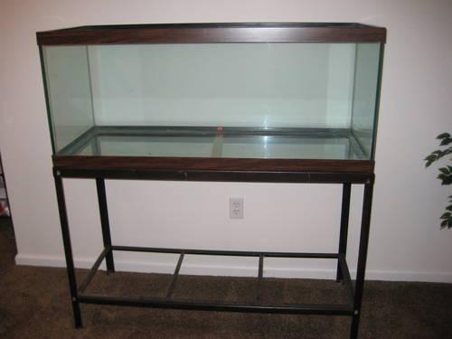 55 gallon fish tank and stand for sale in bayville new
