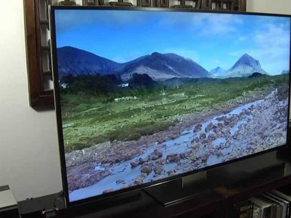 55 inch 4k UHD Samsung Smart TV