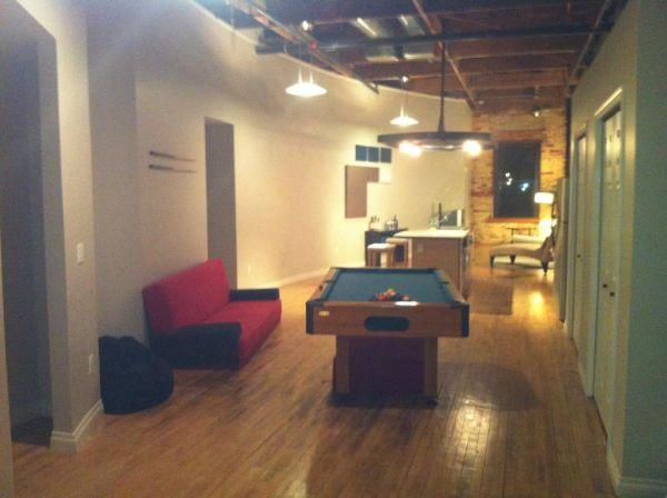 Loft Apartment Top Quality Great Deal Downtown Lansing Above Deckers Coff