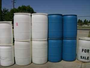 55gal Amp 30gal Plastic Barrels Drums Visalia For Sale