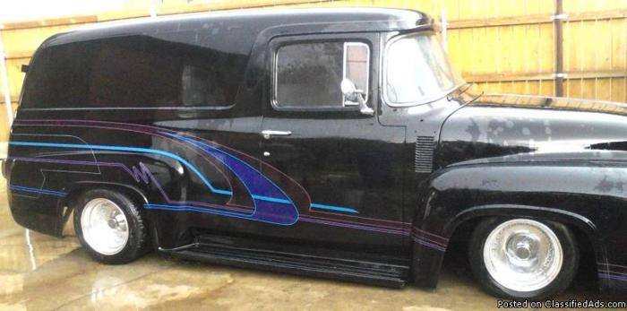39 56 ford panel truck for sale in fresno california classified. Black Bedroom Furniture Sets. Home Design Ideas