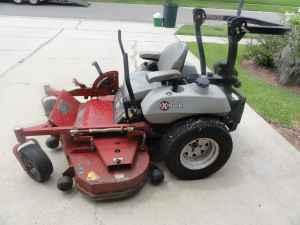 56 inch commercial riding lawn mower by eXmark - $4500