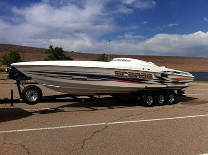 2001 Wellcraft Scarab 33 Ft Avs 502 S Mpi 117 Hrs W