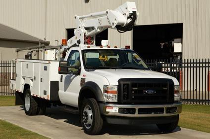 eti etc37ih 2008 ford f550 xlt bucket truck stock 12363 for sale in jackson mississippi. Black Bedroom Furniture Sets. Home Design Ideas