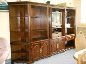 5pc Cherry Book Shelf Wall Unit Made By Kincaid 60 40 Furniture Consignment Pensacola For