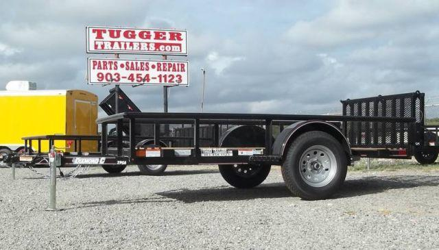 5x10 Diamond C Single Axle Utility/Equipment Trailer