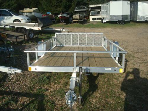 5x10 lightning aluminum utility trailer for sale in for 5x10 wood floor trailer