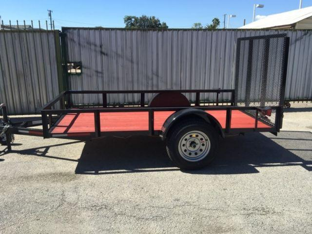 5x10 utility trailer new for sale in bloomington for 5x10 wood floor trailer