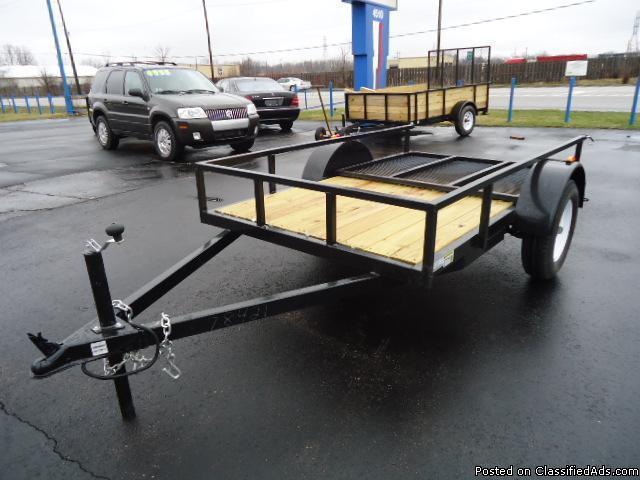 Travel Trailers For Sale In Michigan >> 5X8 UTILITY TRAILER for Sale in Flint, Michigan Classified | AmericanListed.com