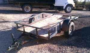 5x9 utility trailer - $450 (Topeka)