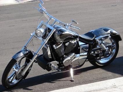 Obo 2002 Honda Shadow Spirit Full Custom For Sale In Grand Island