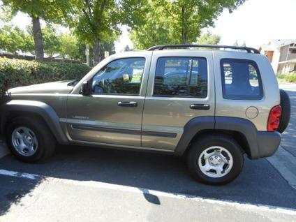 obo 2004 jeep liberty 4wd sport obo for sale in vacaville california classified. Black Bedroom Furniture Sets. Home Design Ideas