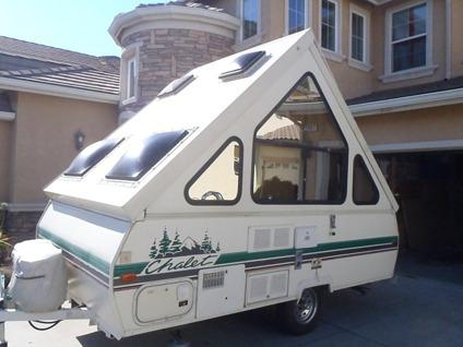Travel Trailers For Sale Sacramento >> OBO Extra Clean Upgraded Hi-Lite Chalet Alpine Folding ...