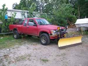 6.5 MEYER POLY SNOW PLOW for TOYOTA TRUCK.. - $1100