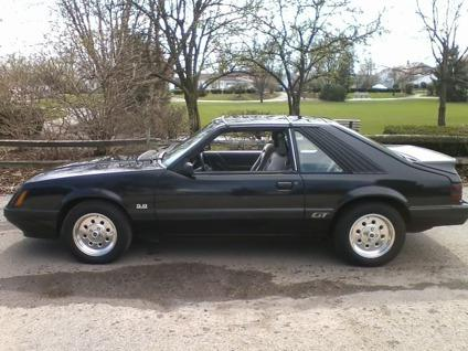 obo 1986 ford mustang gt for sale in etna ohio classified. Black Bedroom Furniture Sets. Home Design Ideas