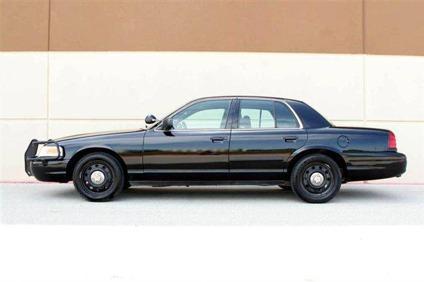 used 2006 ford crown victoria police interceptor sedan. Black Bedroom Furniture Sets. Home Design Ideas
