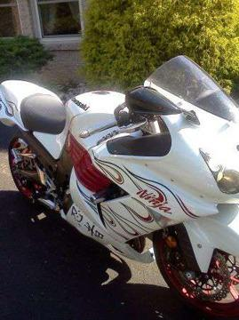 $6,999 2007 zx-14 kawasaki special edition no govorning