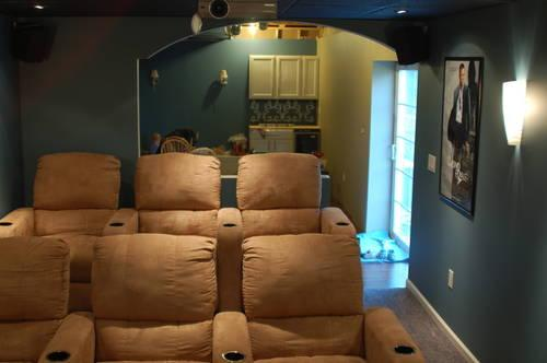 6 Berkline Home Theater Chairs
