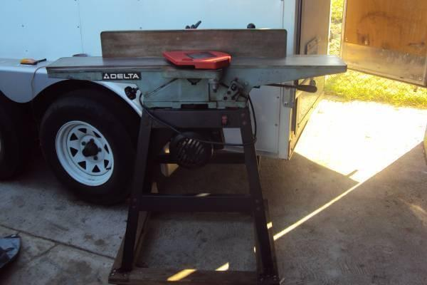 6 Delta Jointer With Original Stand