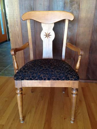 6 dining chairs - $300
