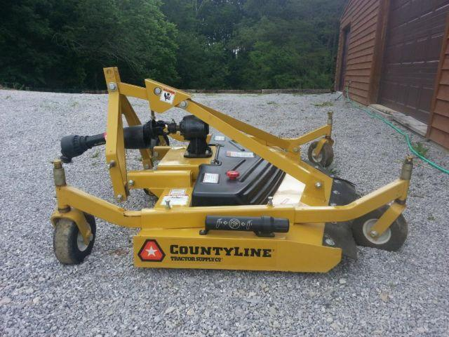6-ft Finish Mower by CountyLine