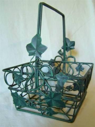 6 Items $1-$14 *Metal BASKETS *Bird CAGE *Wire BASKET