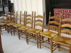 6 Rush Bottom Chairs Winter Haven For Sale In Lakeland Florida Classified