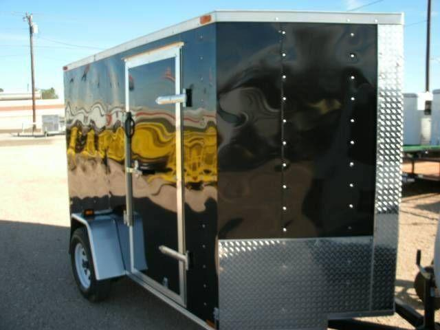 6' x 12' Cargo Enclosed Trailer in The Rio Grande
