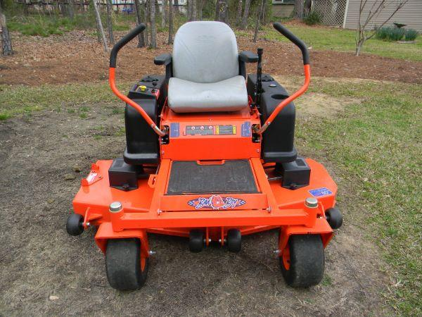 60 Quot Bad Boy Lawn Mower Only 60 Hrs Macon Gray For